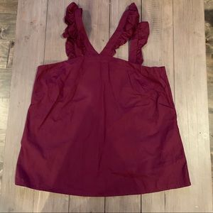 Cremieux Burgundy Top